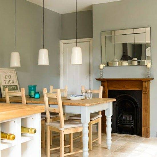 Dining room with roaring fire | Step inside a cosy fisherman's cottage in  the Highlands | housetohome