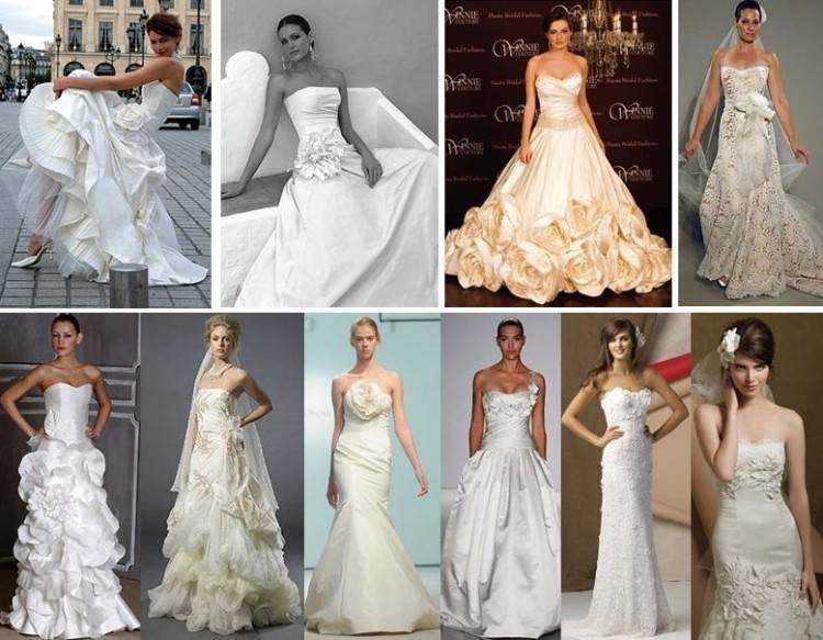 Wedding Gown for apple shape