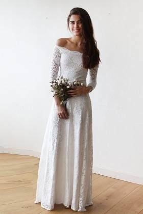 Romantic Sexy Beach Wedding Dresses Chiffon Floor Length Keyhole Back Empire Waist Wedding Dresses Elegant Ball Gowns With Cap Sleeves Cheap Gowns Dresses