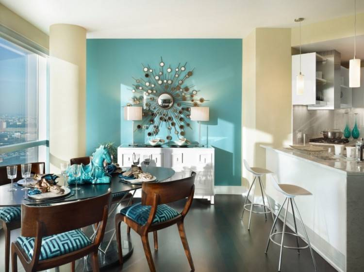 Choosing The Ideal Accent Wall Color For Your Dining Room Paint Ideas Walls