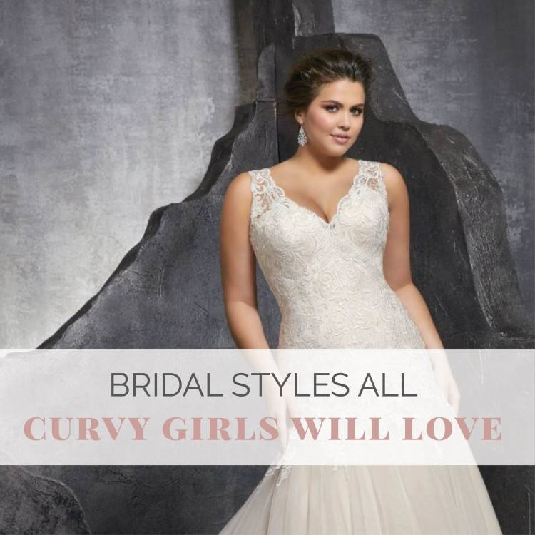 For brides who are bigger in the hips as well as butts areas, search for wedding  dress designs that have complete skirts and that bring focus to the top