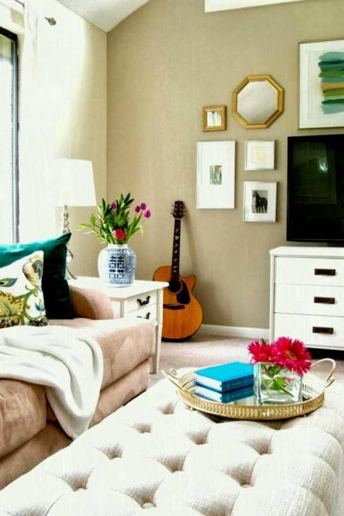 Save time and money by redecorating your living room, bathroom or dining  room with what you already have
