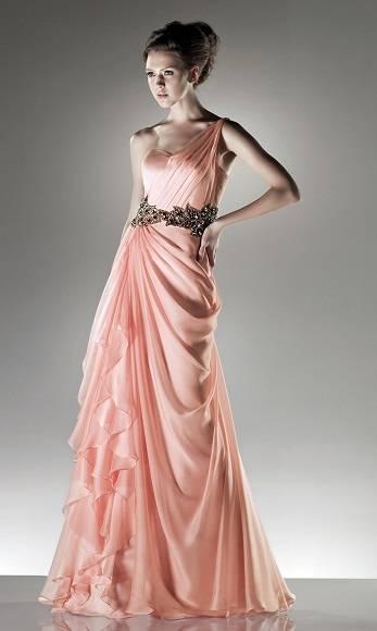 2017 Puffy Long Sleeve Greek Wedding Dresses Simple Goddess Style Sexy  Backless Chiffon Beach Bridal Gowns