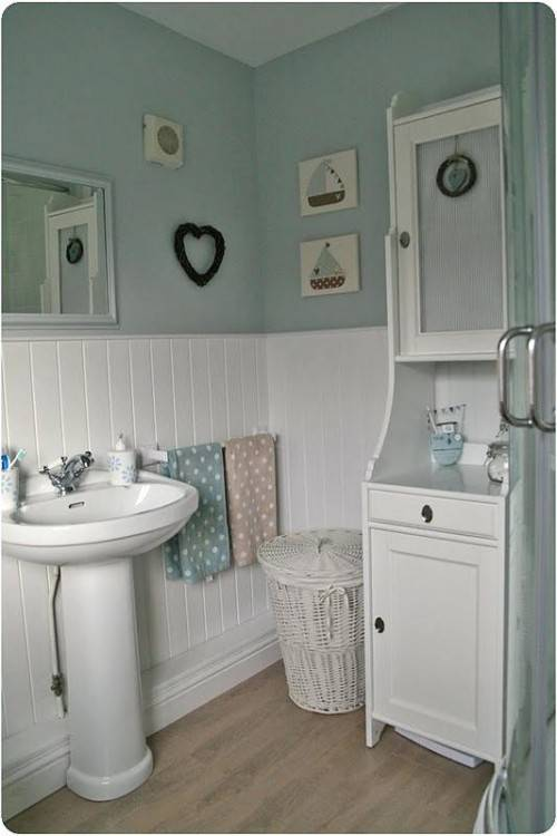 tongue and groove bathroom ideas