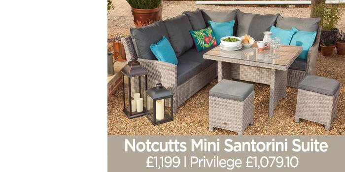 with one of our outdoor living products, including patio furniture, tiki huts and more