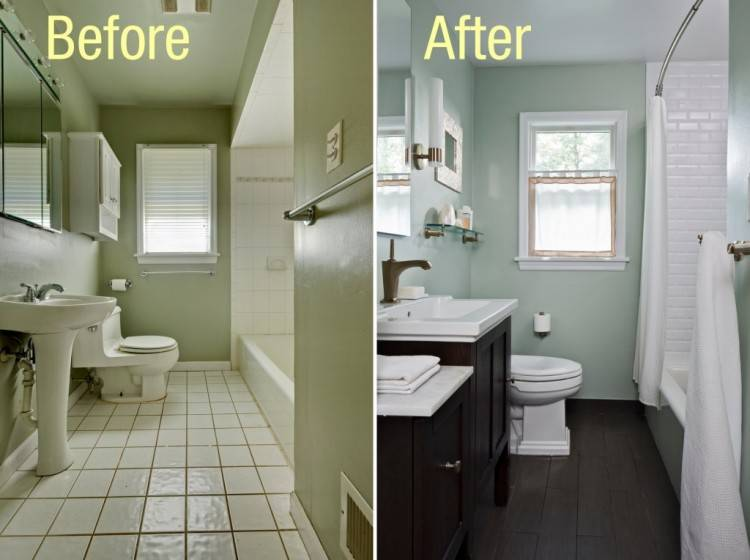 old house remodeling before and