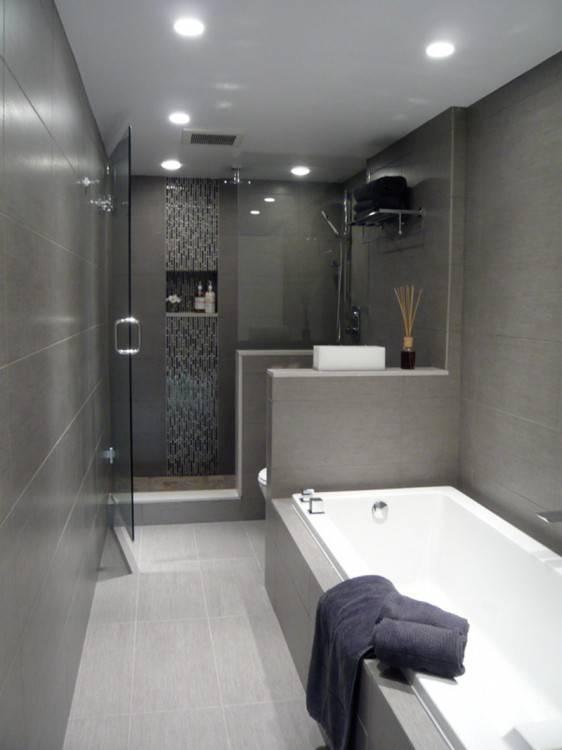 Full Size of Bathroom Fascinating Tile Ideas 21 Cool Textured Grey Walls Haammss Tile Bathroom Ideas