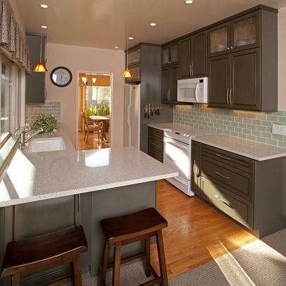 best kitchen colors with white appliances cream