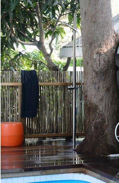 s we've decided to keep the outdoor shower; might be nice after a swim at the beach!