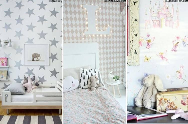 kid bedroom wallpaper