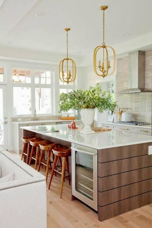 Contemporary kitchen ideas | interior design, home decor, luxury kitchen, luxe