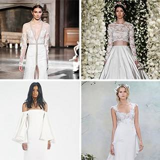 And with the versatility of switching up sleeves, skirts, textures and  embellishments, you really can create your dream dress
