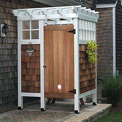 free standing shower o freestanding outside outdoor