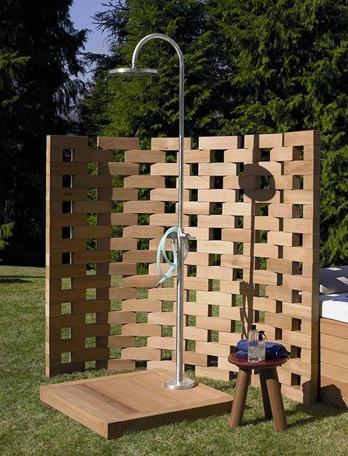 how to make an outdoor shower with a hose beautiful outdoor shower design ideas outdoor showers