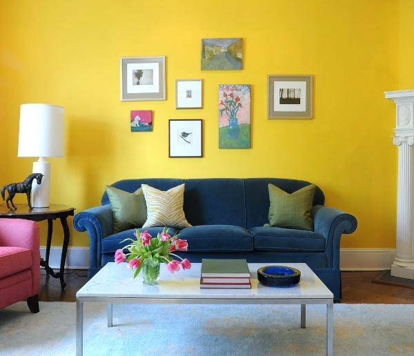 yellow room ideas