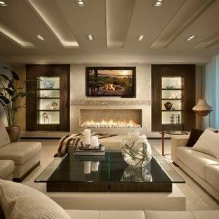 Modern Style living room interior design ideas 2017