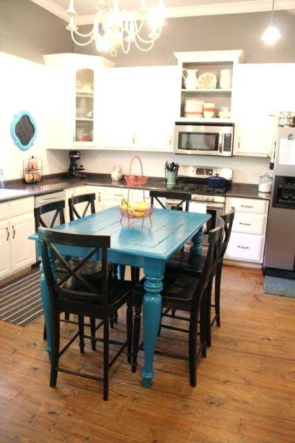 painted kitchen tables table paint ideas best on redoing painting and chairs diy