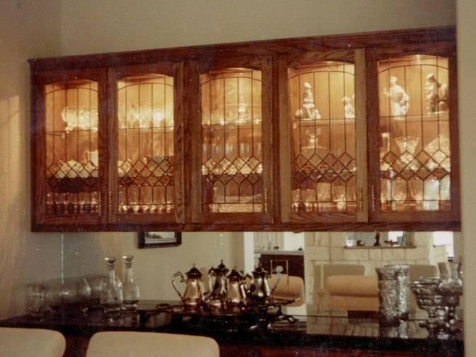 cabinet glass inserts