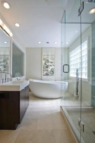 room: Bathroom, Eclectic room by Melanie Giolitti Interior Design