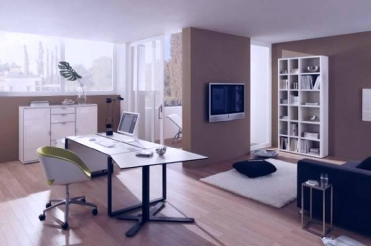 Beautiful dining room / office combination by HGTV designer Genevieve Garder