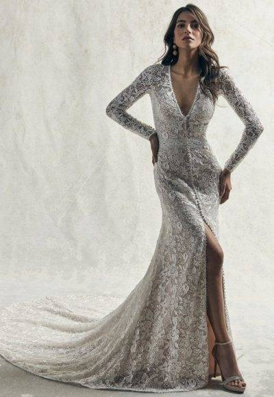 You  can find both traditional mermaid and ball gown styles, and more modern  trends