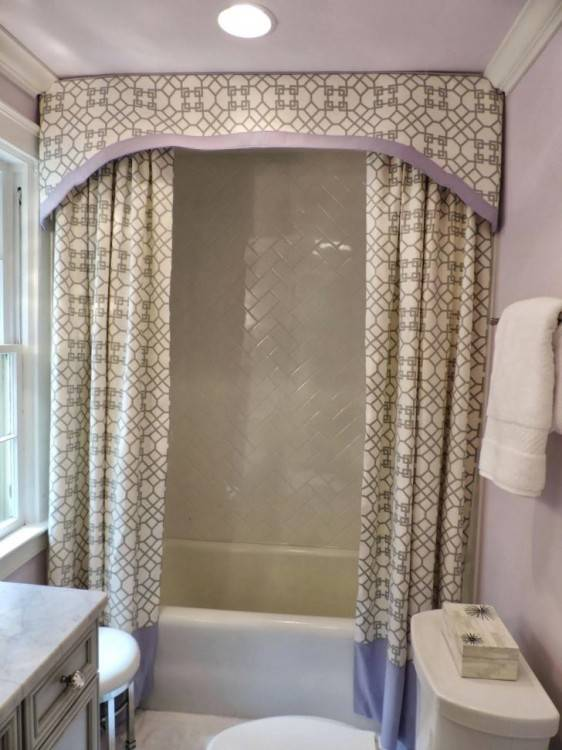 small shower curtains