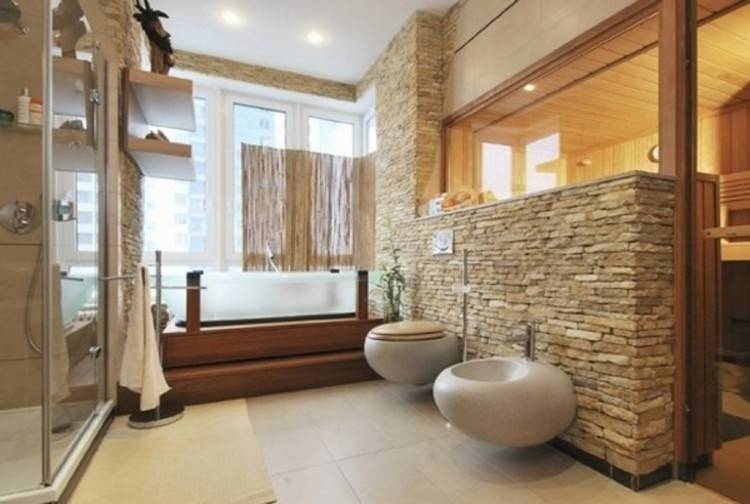 Natural stone elements in your bathroom decor