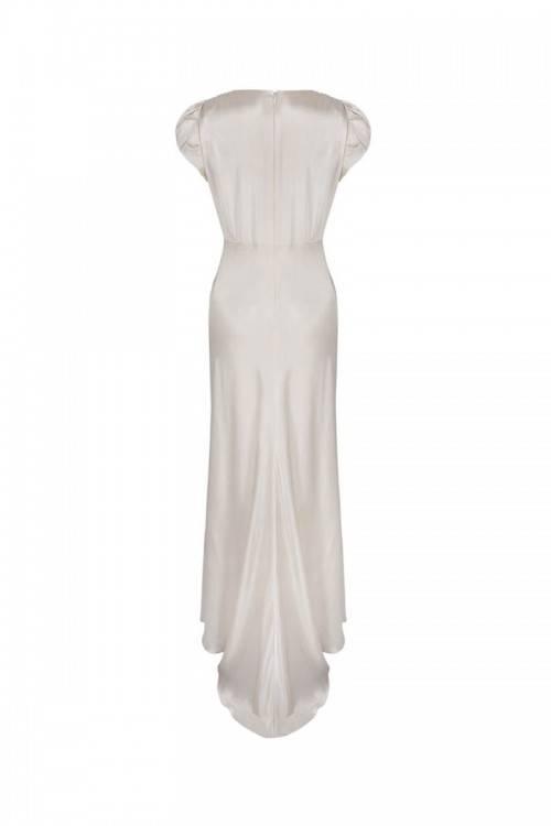 1940s English Vintage Wedding Dress alternative bride