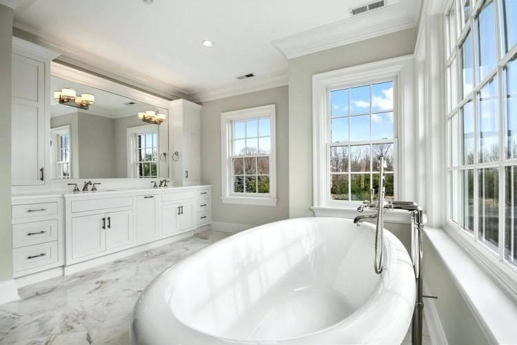 bathroom with no windows