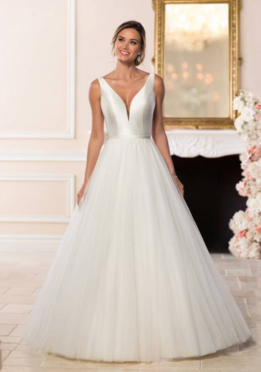 There are a number of beautiful wedding dress styles and silhouettes for  brides