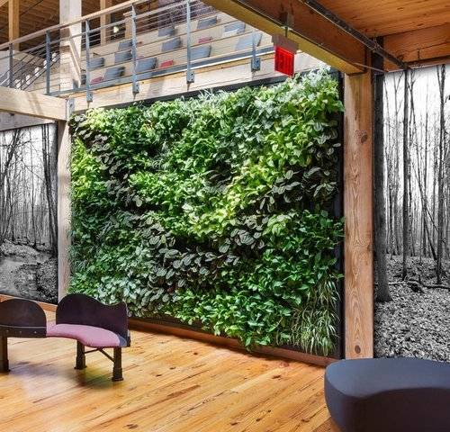 living herb wall