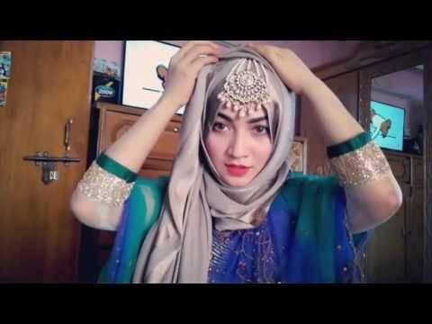 muslim hijab style for wedding
