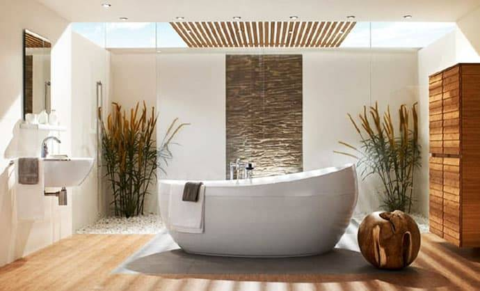 [Bathroom Interior] Natural Bathroom Ethnic