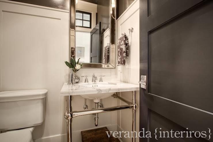 Dark Gray Bathroom Vanity Veranda Interiors Custom Double Like The Brown Cherry Vanities