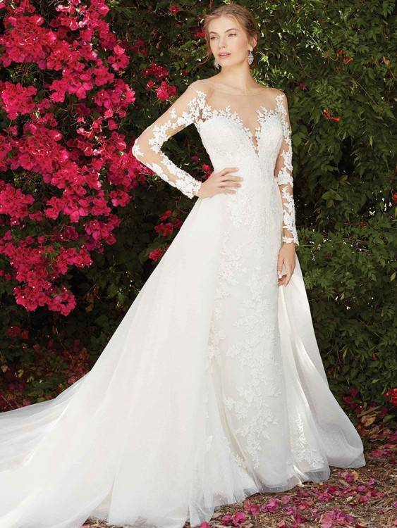 Chinese Style 2016 Mermaid Red Wedding Dresses Dew Belly Appliques Satin  3/4 Long Sleeves Sweep Train Elegant Bridal Dress Bride Gown Bride Wedding  Dress