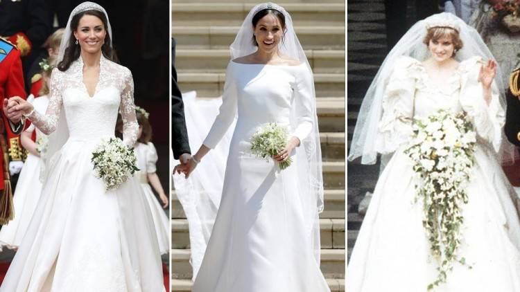 There was huge excitement when we saw Princess Eugenie's stunning wedding  gown for the first time! The royal's elegant dress was by British designer  Peter