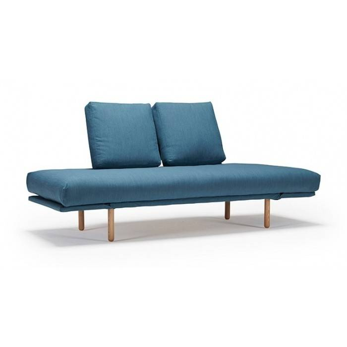 Buri sofa bed wooden legs fabric seat by Innovation Living online sales