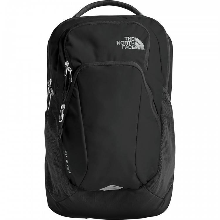 North face WOMENS PIVOTER BACKPACK CHJ9 TNF BLACK EMBOSS PETTICOAT PINK