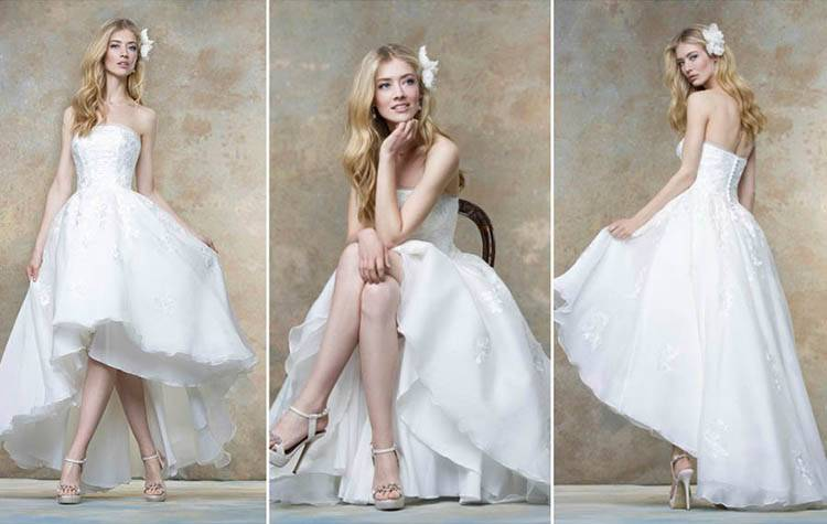 Wedding Dress Shapes and Styles for Brides with a Small Bust | hitched