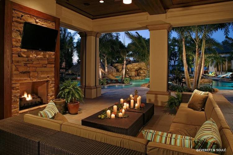 Outdoor living spaces are places where you can gather to appreciate your  landscape and enjoy your friends and family
