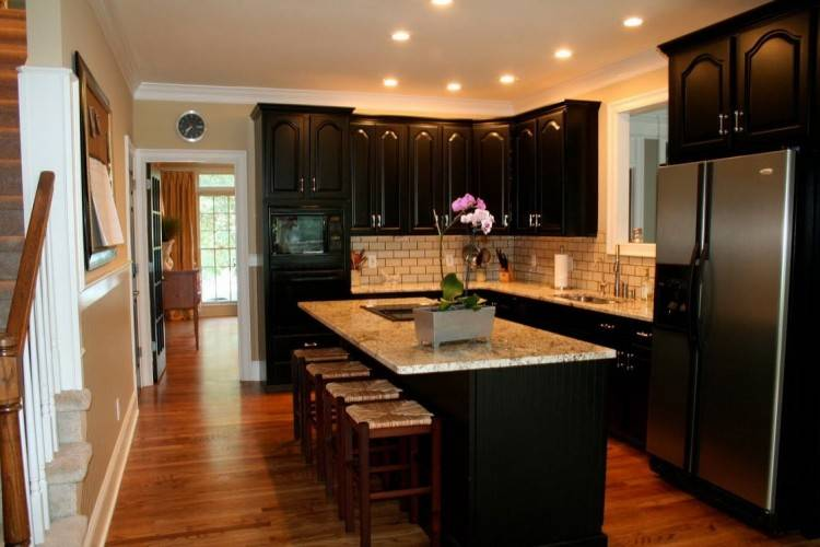 outstanding kitchen ideas with black appliances pictures picture inspirations