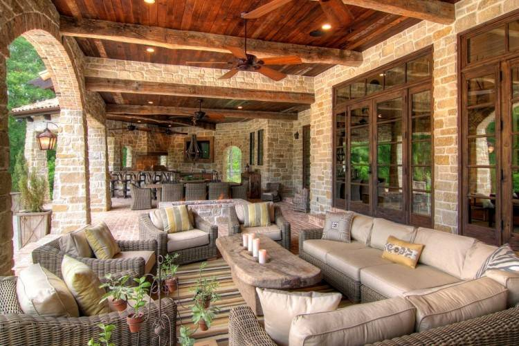 So stop just dreaming about your outdoor living space