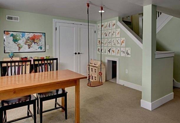 Formal Dining Room to Functional Play Room | TheTurquoiseHome