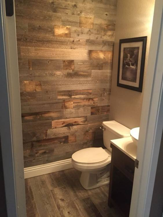 Wood Tile Bathroom Design