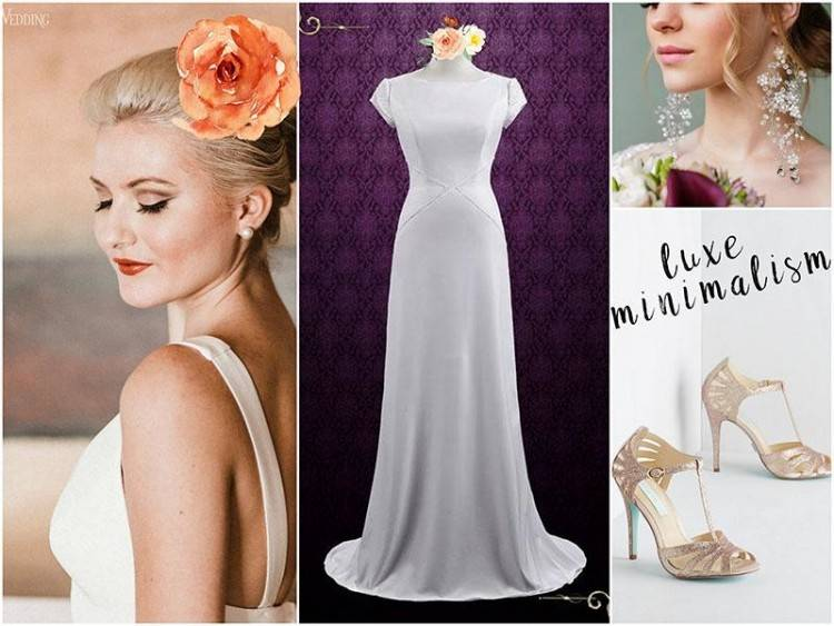 67 Simple Wedding Dresses Perfect For A Minimalist Brides With Wedding  Gown