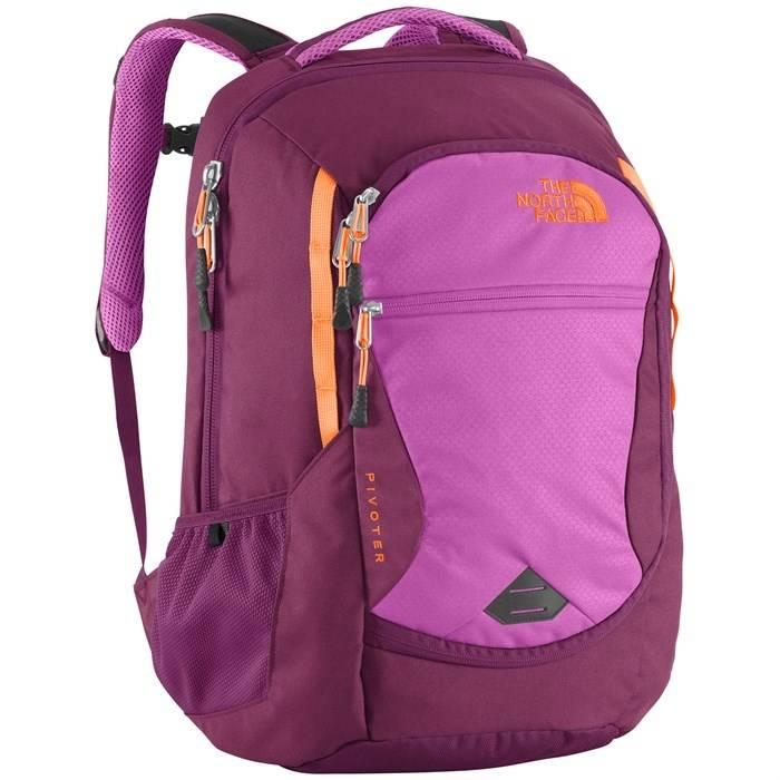 Samsonite Ladies Leather Hamptons Backpack in the color Sangria