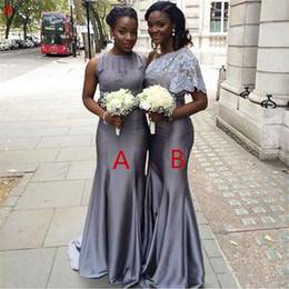 New Design African Style Ivory Wedding Dresses 2017 Nigerian Lace Applique  Plus Size Illusion Neck Half Long Sleeve Bridal Wedding Gowns Simple Wedding