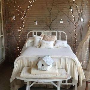 Shabby Chic and Industrial Bedroom