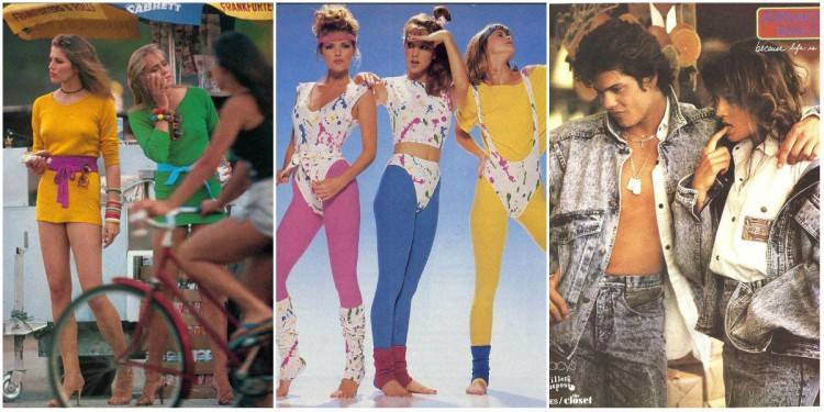Fashion Trends and Style from the 1980s