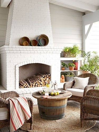 Inspiring Images Of Deck Furniture Layout For Your Inspiration : Classy Outdoor Living Room Decoration Using